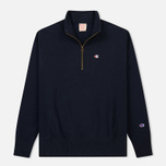 Мужская толстовка Champion Reverse Weave Half Zip Navy фото- 0