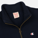 Мужская толстовка Champion Reverse Weave Half Zip Navy фото- 1
