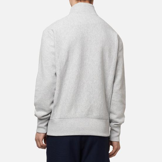 Мужская толстовка Champion Reverse Weave Half Zip-Up Light Grey