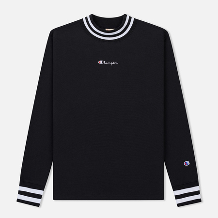 Мужская толстовка Champion Reverse Weave High Neck Brushed Fleece Black