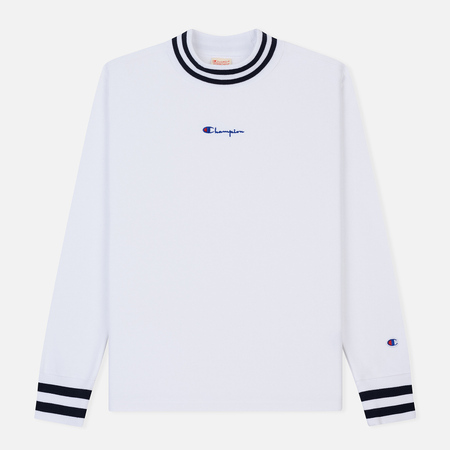 Мужская толстовка Champion Reverse Weave High Neck Brushed Fleece White