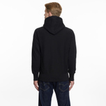 Мужская толстовка Champion Reverse Weave Hooded Big Script Logo Black фото- 6