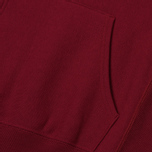 Мужская толстовка Champion Reverse Weave Hooded Big Script Logo Burgundy фото- 4