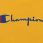 Мужская толстовка Champion Reverse Weave Hooded Big Script Logo Golden Rod фото - 2
