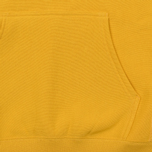 Мужская толстовка Champion Reverse Weave Hooded Big Script Logo Golden Rod фото- 3