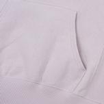 Мужская толстовка Champion Reverse Weave Hooded Big Script Logo Lavender фото- 4