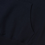 Мужская толстовка Champion Reverse Weave Hooded Big Script Logo Navy фото- 5