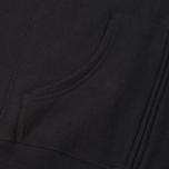 Мужская толстовка Champion Reverse Weave Hooded Full Zip Black фото- 4