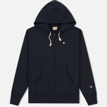 Мужская толстовка Champion Reverse Weave Hooded Full Zip Navy фото- 0