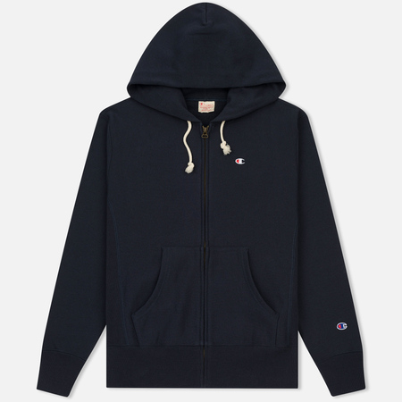 Мужская толстовка Champion Reverse Weave Hooded Full Zip Navy