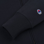 Мужская толстовка Champion Reverse Weave Hooded Full Zip Navy фото- 3