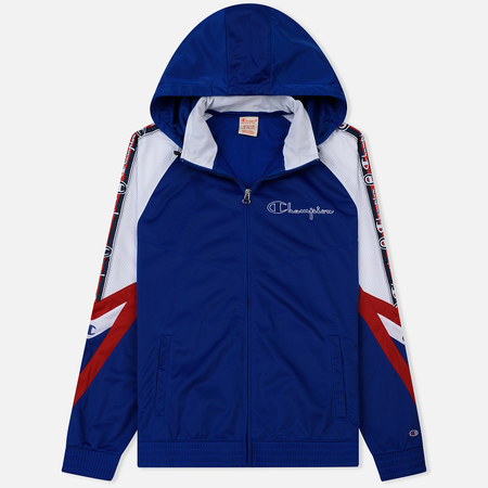 Мужская куртка ветровка Champion Reverse Weave Hooded Full Zip Top Sport Icon Nautical Blue