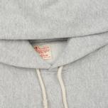 Мужская толстовка Champion Reverse Weave Hooded Grey фото- 1