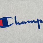 Мужская толстовка Champion Reverse Weave Hooded Grey фото- 2