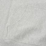 Мужская толстовка Champion Reverse Weave Hooded Grey фото- 4