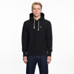 Мужская толстовка Champion Reverse Weave Hooded Logo Patch To The Chest And Sleeve Black фото- 5