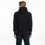 Мужская толстовка Champion Reverse Weave Hooded Logo Patch To The Chest And Sleeve Black фото- 6