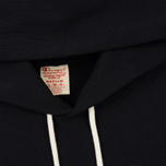 Мужская толстовка Champion Reverse Weave Hooded Logo Patch To The Chest And Sleeve Black фото- 1