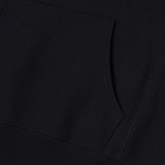 Мужская толстовка Champion Reverse Weave Hooded Logo Patch To The Chest And Sleeve Black фото- 4