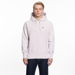 Мужская толстовка Champion Reverse Weave Hooded Logo Patch To The Chest And Sleeve Lavender фото- 5