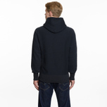 Мужская толстовка Champion Reverse Weave Hooded Logo Patch To The Chest And Sleeve Navy фото- 6