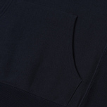 Мужская толстовка Champion Reverse Weave Hooded Logo Patch To The Chest And Sleeve Navy фото- 4