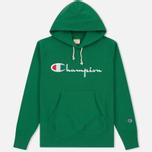 Мужская толстовка Champion Reverse Weave Hooded Verdent Green фото- 0