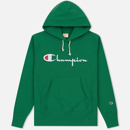 Мужская толстовка Champion Reverse Weave Hooded Verdent Green