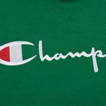 Мужская толстовка Champion Reverse Weave Hooded Verdent Green фото- 2
