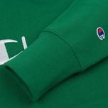Мужская толстовка Champion Reverse Weave Hooded Verdent Green фото- 3