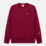 Мужская толстовка Champion Reverse Weave Icon Crew Neck Burgundy фото- 0