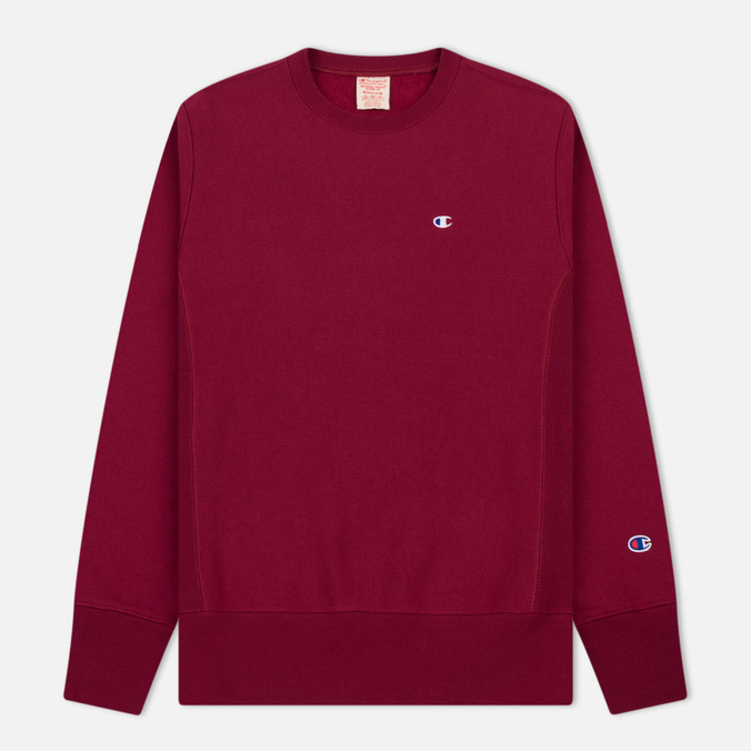 Мужская толстовка Champion Reverse Weave Icon Crew Neck Burgundy