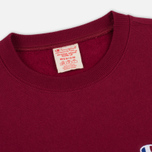 Мужская толстовка Champion Reverse Weave Icon Crew Neck Burgundy фото- 1