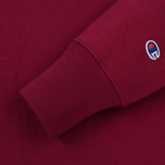 Мужская толстовка Champion Reverse Weave Icon Crew Neck Burgundy фото- 3