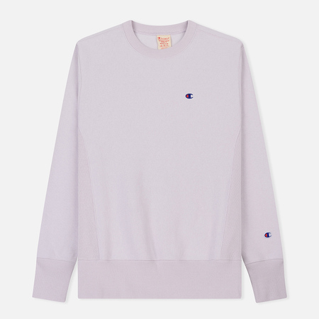 Мужская толстовка Champion Reverse Weave Icon Crew Neck Lavender