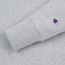 Мужская толстовка Champion Reverse Weave Icon Crew Neck Light Grey фото- 3