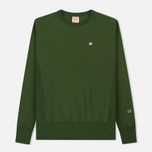 Мужская толстовка Champion Reverse Weave Icon Crew Neck Military Green фото- 0