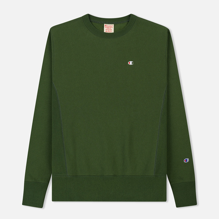 Мужская толстовка Champion Reverse Weave Icon Crew Neck Military Green