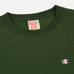 Мужская толстовка Champion Reverse Weave Icon Crew Neck Military Green фото- 1