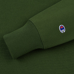 Мужская толстовка Champion Reverse Weave Icon Crew Neck Military Green фото- 3