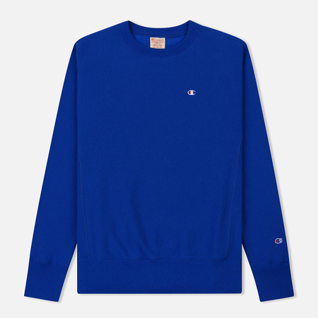 Мужская толстовка Champion Reverse Weave Icon Crew Neck Nautical Blue