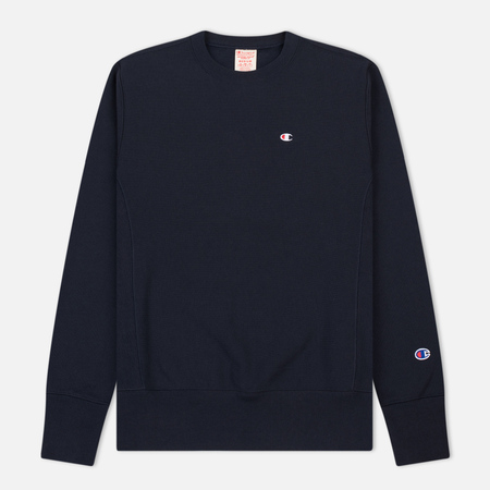Мужская толстовка Champion Reverse Weave Icon Crew Neck Navy