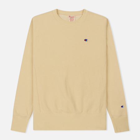 Мужская толстовка Champion Reverse Weave Icon Crew Neck Wheat
