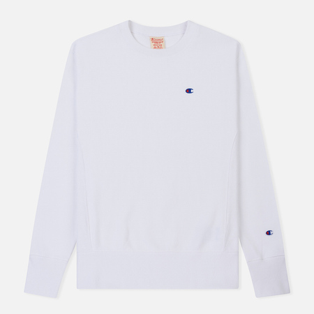 Мужская толстовка Champion Reverse Weave Icon Crew Neck White