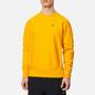 Мужская толстовка Champion Reverse Weave Logo Chest & Sleeve Crew Neck Zinc Yellow фото - 2