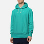Мужская толстовка Champion Reverse Weave Logo Chest & Sleeve Hoodie Bright Green фото - 2