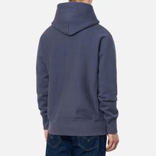Мужская толстовка Champion Reverse Weave Logo Chest & Sleeve Hoodie Charcoal фото- 3