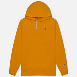 Мужская толстовка Champion Reverse Weave Logo Chest & Sleeve Hoodie Orange