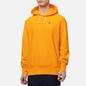Мужская толстовка Champion Reverse Weave Logo Chest & Sleeve Hoodie Zinnia Orange фото - 2