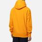 Мужская толстовка Champion Reverse Weave Logo Chest & Sleeve Hoodie Zinnia Orange фото - 3